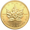 Gold Coin Canadian Maple Leaf 1987 - 1 oz