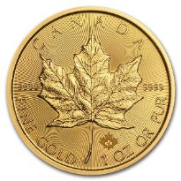 Gold Coin Canadian Maple Leaf 2018 - 1 oz
