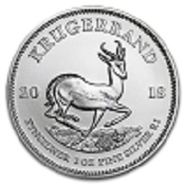 Silver Coin South African Krugerrand 2018 - 1 oz