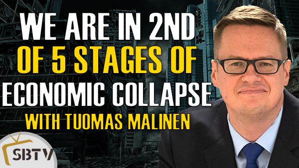 Tuomas Malinen - We Are In Stage 2 of the Five Stages of Economic Collapse